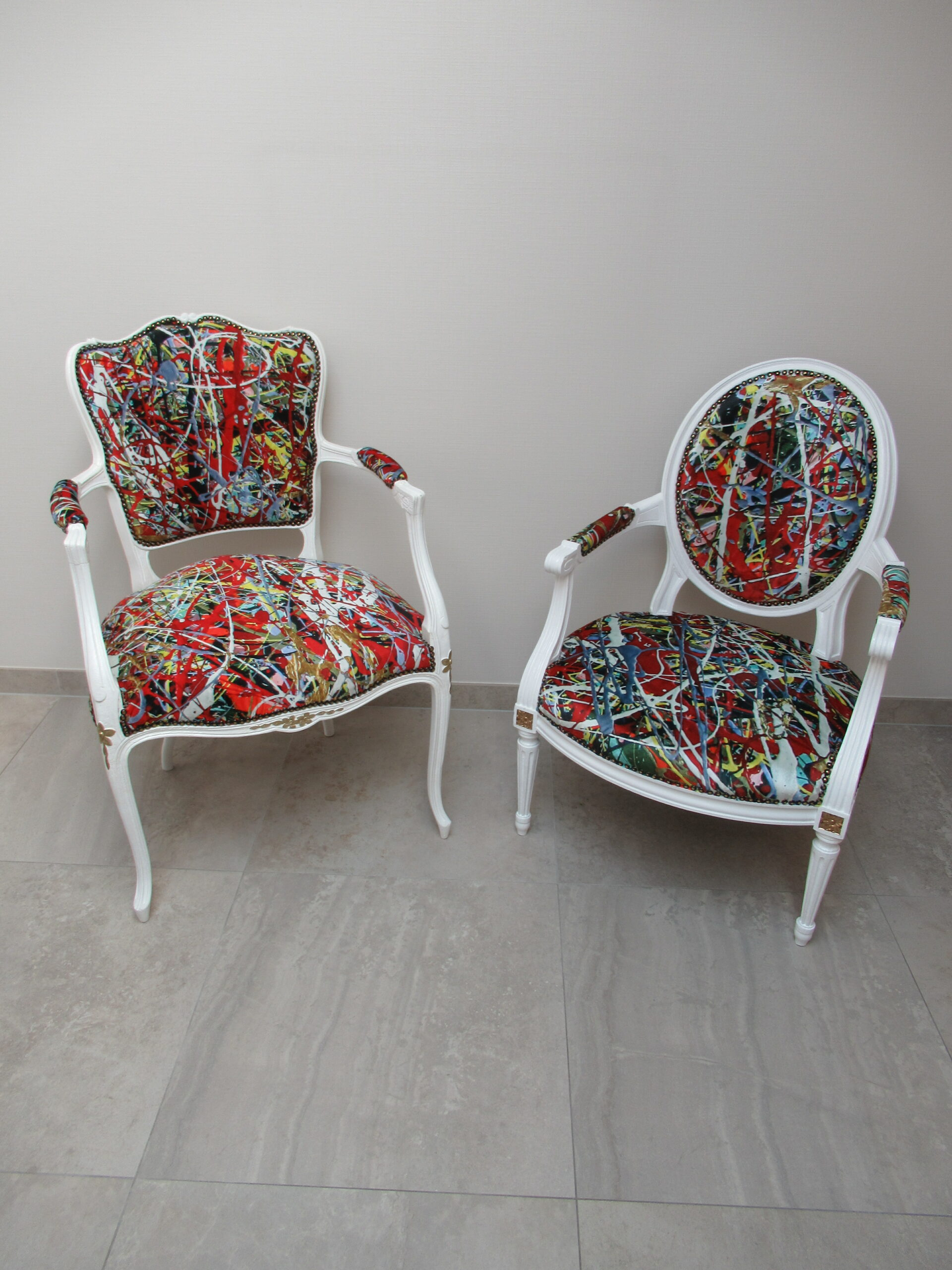 Art Chair nr 2 and nr 7