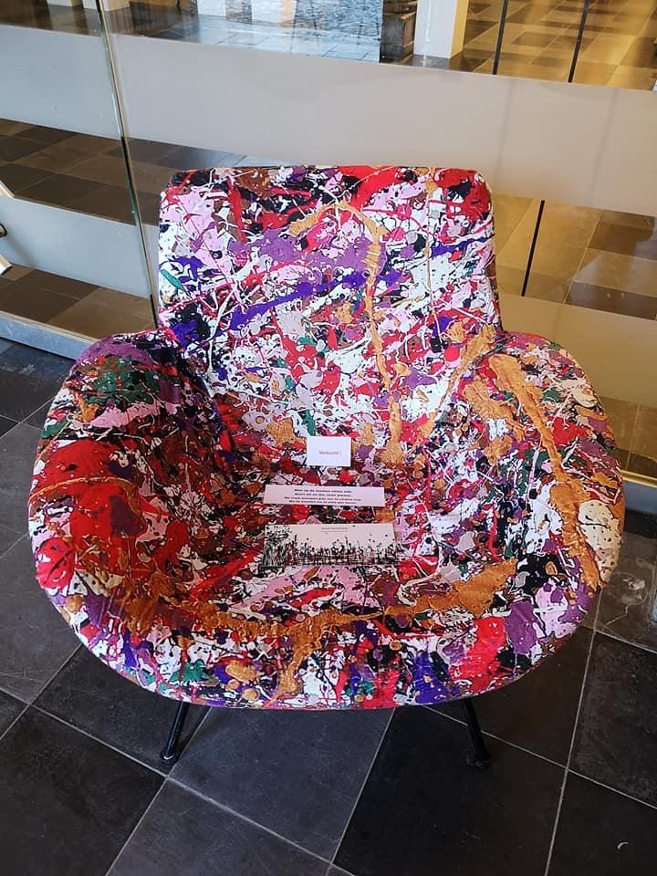 Art Chair 6  ( Sold ! )